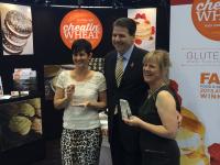 cheatin' wheat wins gluten free FABI Award