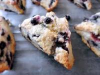gluten free blueberry scone