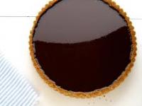 gluten free chocolate ganache tart