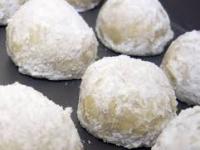 gluten free pecan snowballs