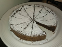 gluten free chocolate soufle cake
