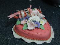 gluten free heart cake