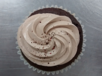 gluten free chocolate cupcake