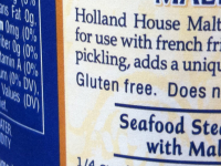 is malt vinegar gluten free?