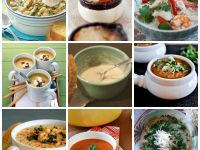 gluten free soup collage