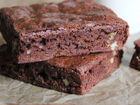 vegan, gluten free brownies