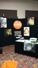 cheatin' wheat gluten free at Colorado Rest Association Food Show