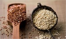 uncooked quinoa, naturally gluten free