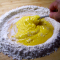 incorporating gluten free flour into eggs