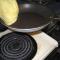 flipping gluten free crepe