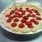 unbaked gluten free almond raspberry tart