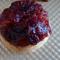 gluten free upside down orange scone